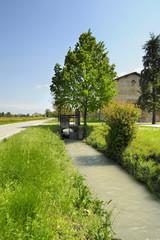 landscape con torrente