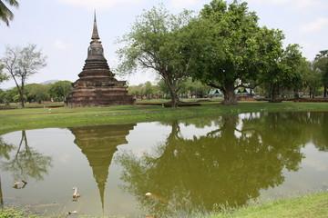 Le temple du lac