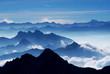 Traumpanorama (Blick von Zugspitze)-View from Mt Zugspitz