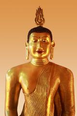 A large sculpture of a Buddha in  Sri Lanka