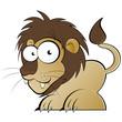 löwe cartoon lustig maskottchen wild