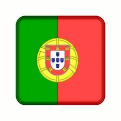animation bouton drapeau portugal
