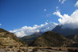 Himalaya and Cloud and Blue Sky