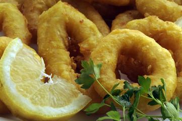 Calamari fritti - Secondi di pesce