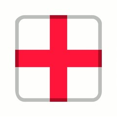 animation bouton drapeau angleterre