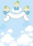 three cute little angels