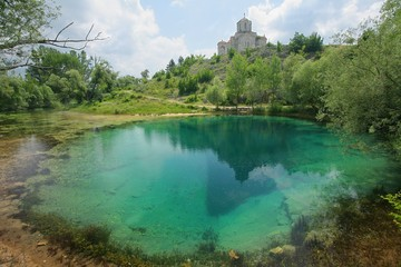 The source of the Cetina river.