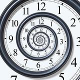 Zegar – spirala czasu