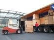 Leinwandbild Motiv Gütertransport