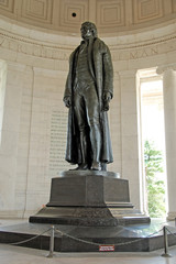Statue of Thomas Jefferson at Jefferson Memorial