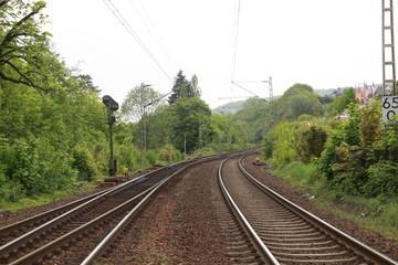 Raíles de tren