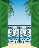 Terrazza Sul Mare-Terrace overlooking the Sea-Vector