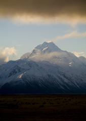 The highest peak in Australasia is Mt Cook, at 3755m.