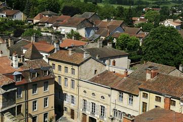 Ville de Cluny en Bourgogne