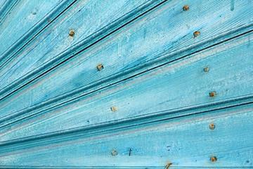 Ausschnitt aus verwitterter Holztür