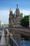 La cathédrale du Sang-Versé à Saint Petersbourg
