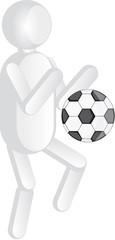 omino calcio