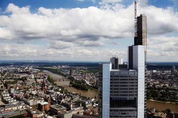 Frankfurt/Main, Maintower, looking eastwards
