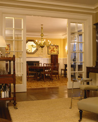 View into Dining Room from Living Room