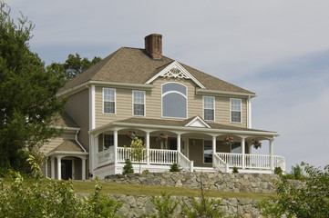 Contemporary Victorian-style Home