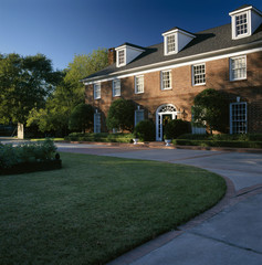 Traditional Brick Home