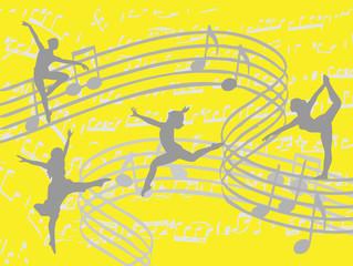 Vier Tänzerinnen