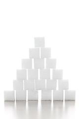 Sugar cube pyramid