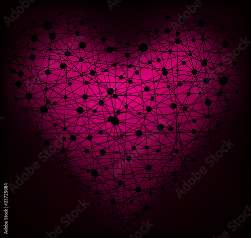 Heart, vector illustration