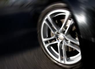 Wheel Rim in Motion