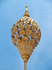 Golden decorations
