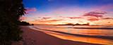 Fototapety Tropical island at sunset