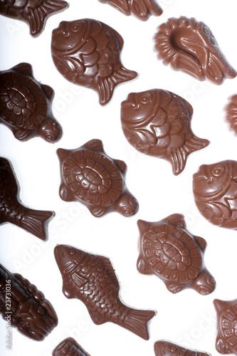 Papiers peints Confiserie Pâques-Chocolat Friture