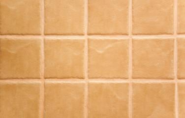 yellow tiled