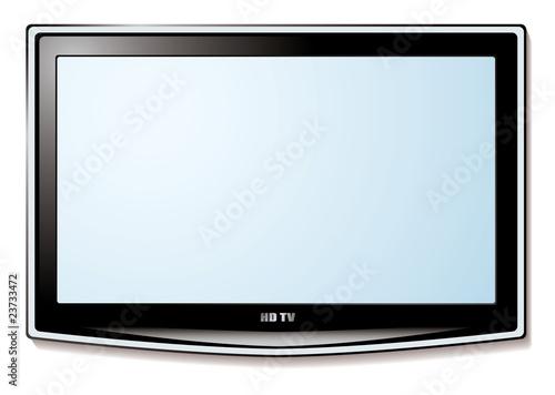 LCD tv white screen