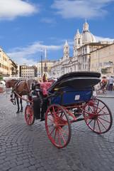 Roma, piazza navona, veduta