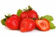 rote erdbeeren