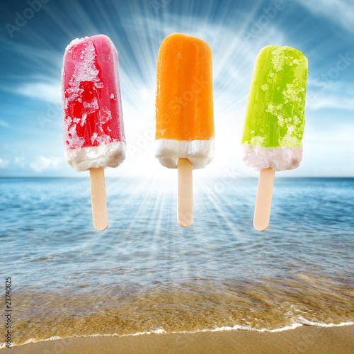 Three Popsicles