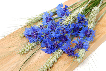 Cornflowers and cereals