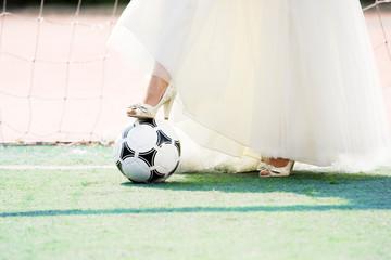 bride goalkeeper