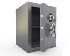 caja fuerte abierta