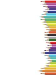 foglio matite colorate