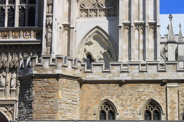 Westminster Abbey battlements
