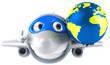 Avion et terre