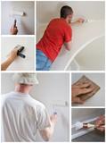 composition peinture en bâtiment
