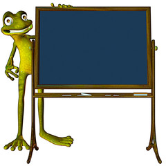frog back to school now