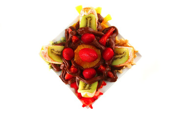 purified exotic fruits