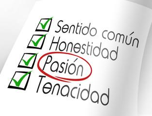 Pasión. Características emprendedor a lograr sus sueños