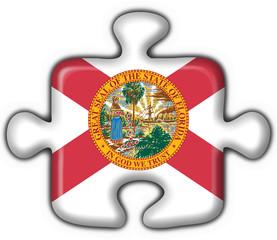 Florida (USA State) button flag puzzle shape