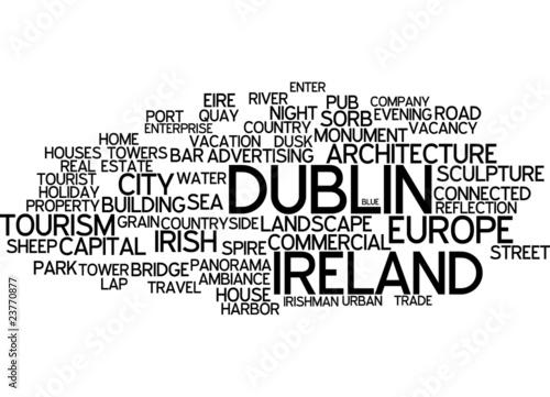 Dublin (Ireland) - Typography