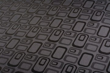 black- white grid pattern fabric